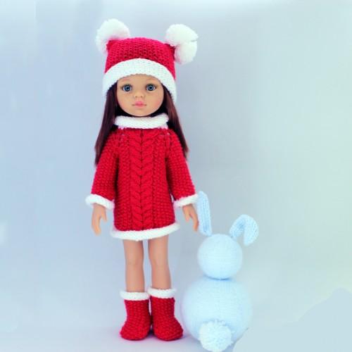 Conjunto navidad para Paola Reina 32 cm
