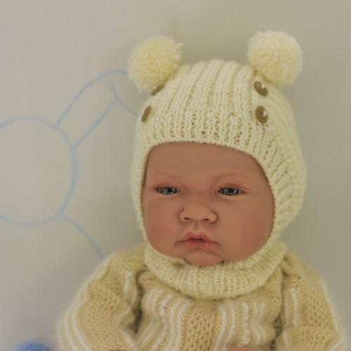 Patrón verdugo muñeco medio-grande/bebé