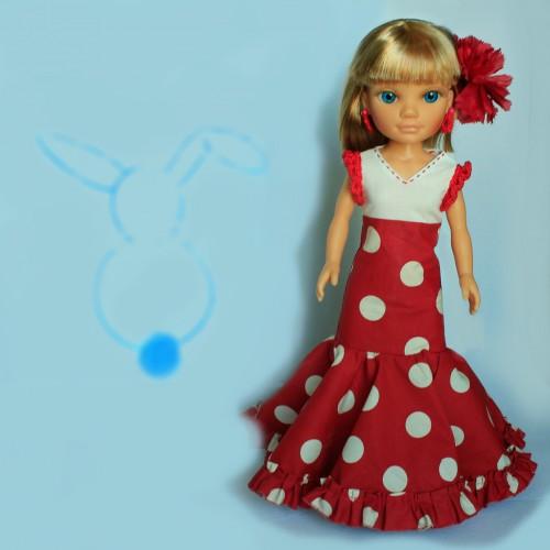 Patrón vestido Flamenca Nancy