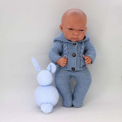 Patrón patitas y chaqueta Gordi de Paola Reina, Nenuco 32 cm blando y duro y Antonio Juan 33 cm