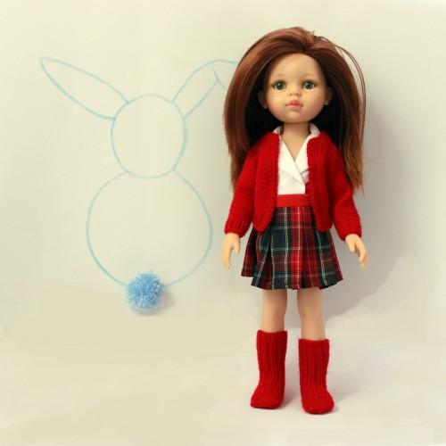 Conjunto uniforme colegio Paola Reina 32 cm