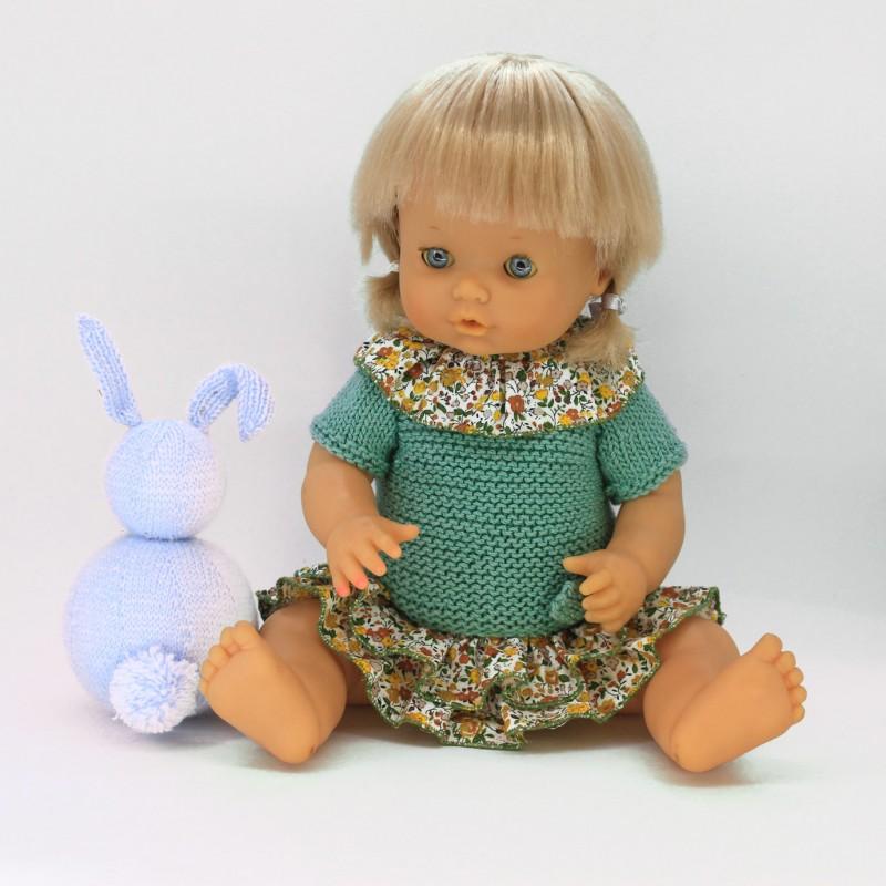 Conjunto vestido y braguita Nenuco tradicional