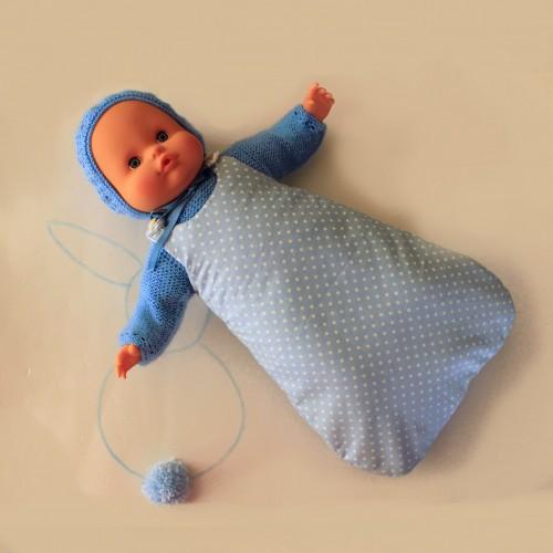 Saco de tela sin mangas SOLO SACO para Nenuco 32 cm cuerpo de trapo