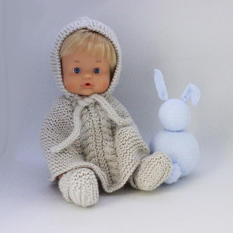 Patrón capita y botas para muñecos de 30-34 cm