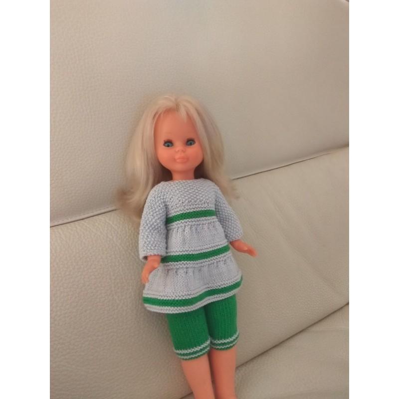2. patrón pantalón y blusa Nancy