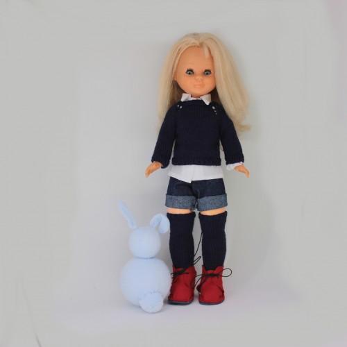 Patrón conjunto pantalón corto Nancy