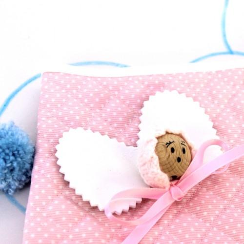 Bolsa Portapañales angelito rosa