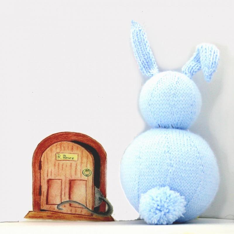 La casita del Ratón Pérez para pegar pequeña