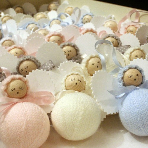 angelito clasico de lana beige