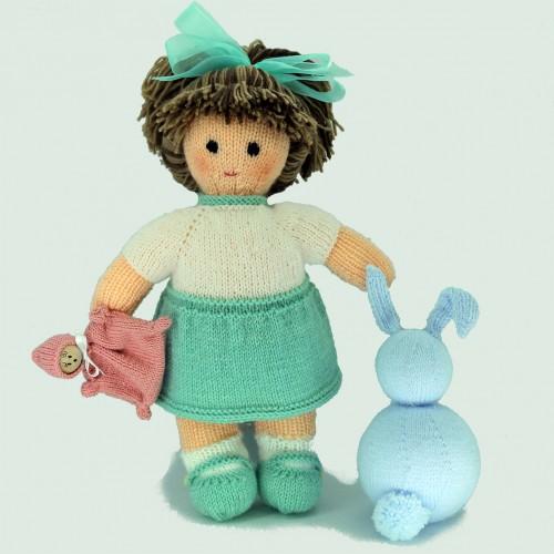 Patrón muñeca de punto María
