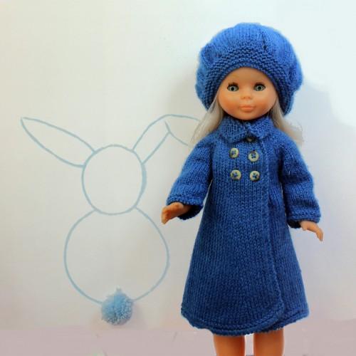 Patrón abrigo Nancy