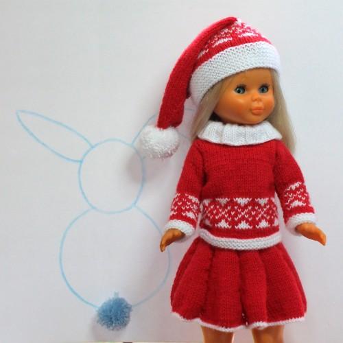 Patrón Nancy navidad