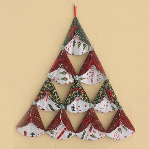 Curso de patchwork facil para Navidad