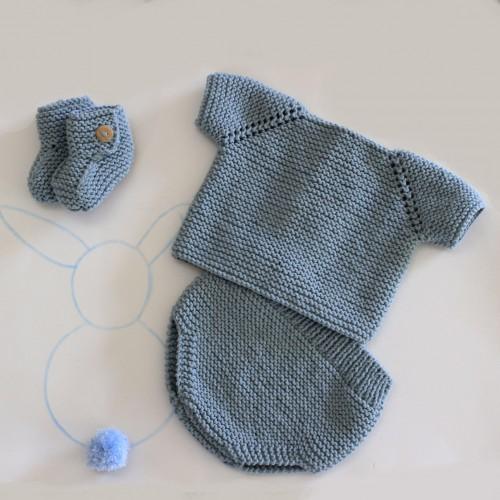 Patrón Conjunto Básico Bebé 1 postura
