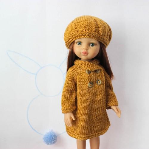 Patrón abrigo para Paola Reina 32 cm
