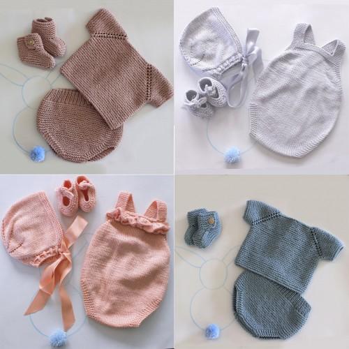 Pack 2 conjuntos básicos bebé primera postura