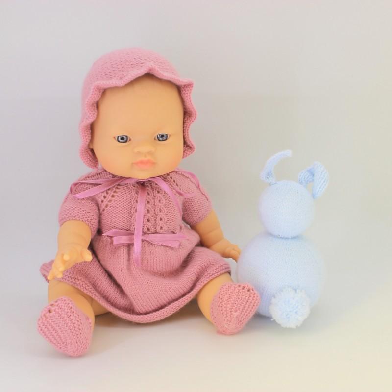 Patrón vestido Nenuco 32 cm